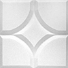 Contour Ceiling Tile Mosaic Pattern