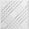 Contour Ceiling Tile Vision Pattern