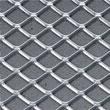 Squareline Ceiling Standard Chrome Metal Grey Insert