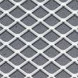 Squareline Ceiling Standard White Metal Grey Insert