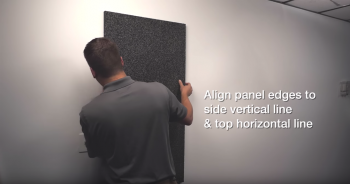 sound silencer acoustic panel