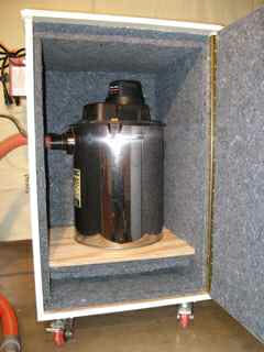 Echo Eliminator Used To Soundproof Shop Vac