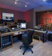 recording studio construction