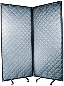 Portable Quilted Curtains For Soundproofing And Noise Control