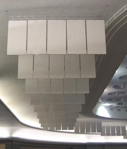Hanging Acoustical Baffles Cotton Acoustical Baffles