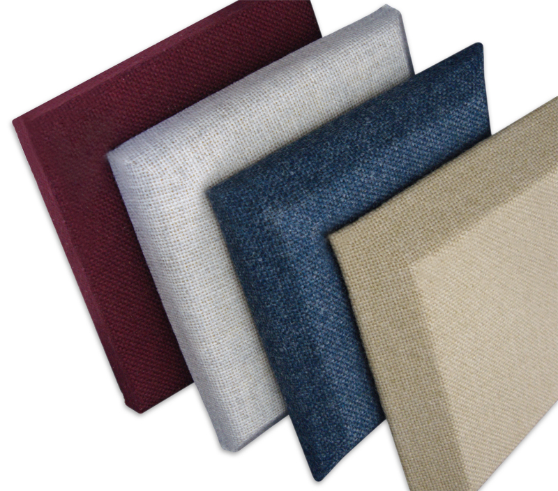 Fabric Sound Panels : Fabric wrapped wall panels acoustical