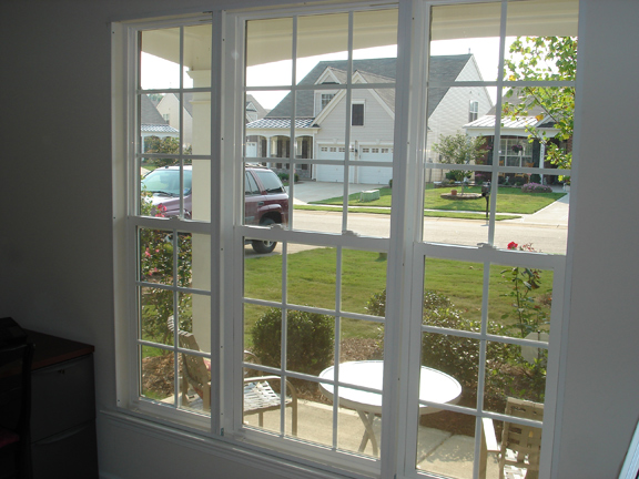 Three Wide Double Hung Windows : Acoustical window inserts storm windows
