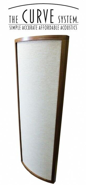 Medium Curve Diffusor – Vanilla