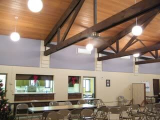 church soundproofing panels