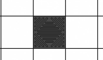 Sound Silencer DBA Charcoal Ceiling Tile