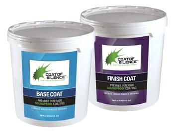 Coat of Silence Soundproof Paint | Acoustical Surfaces