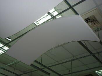 Silk Metal Curved Panels