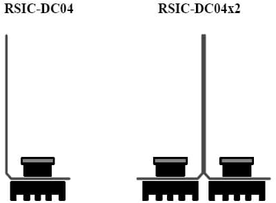 RSIC-DC04 and RSIC-DC04x2 Isolation Decouple Clip