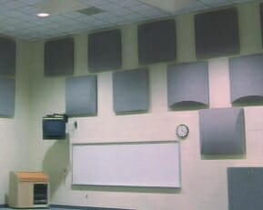 Decorative Acoustic Diffuser Panels Sound Deadening Panels