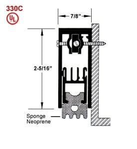 Automatic Door Seal Heavy Duty 330C
