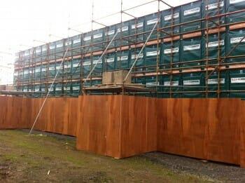 Echo Barrier Outdoor Wall