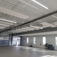 Decorative Fabric Wrapped Acoustical Ceiling Clouds