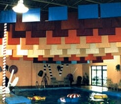 Sailcloth & Vinyl Encapsulated Acoustical Baffles