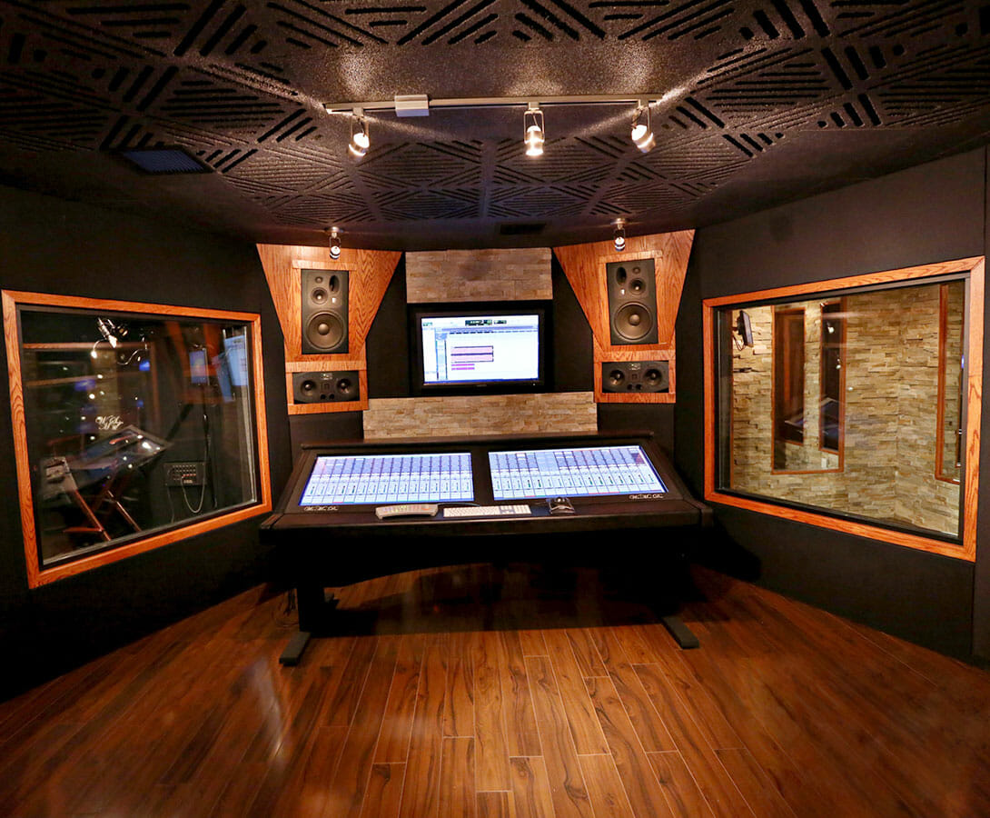 Acoustic windows soundproof glass windows acoustical for Studio interior ideas