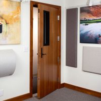 soundproof door