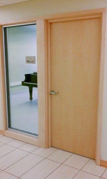 Soundproof Door for Piano Room