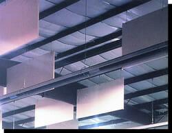 Sound Silencer Hanging Acoustical Baffles