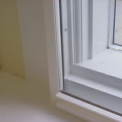 Climate Seal Window Insert Mounted on the Surface of Existing Window Frame