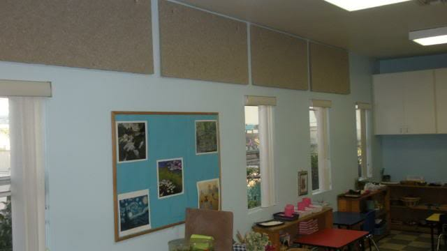 sound proofing a classroom