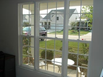Climate Seal in Residential Triple Wide Double Hung Window