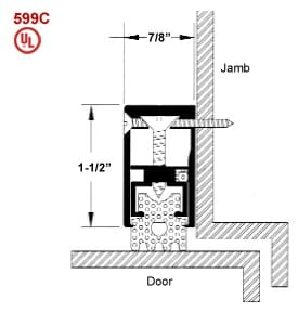 Door Frame Sound Gasket 629 by Acoustical Surfaces