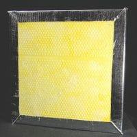 Noise S.T.O.P. Sani-Sorb™ Aluminized Mylar Encapsulated Fiberglass Acoustical Panels