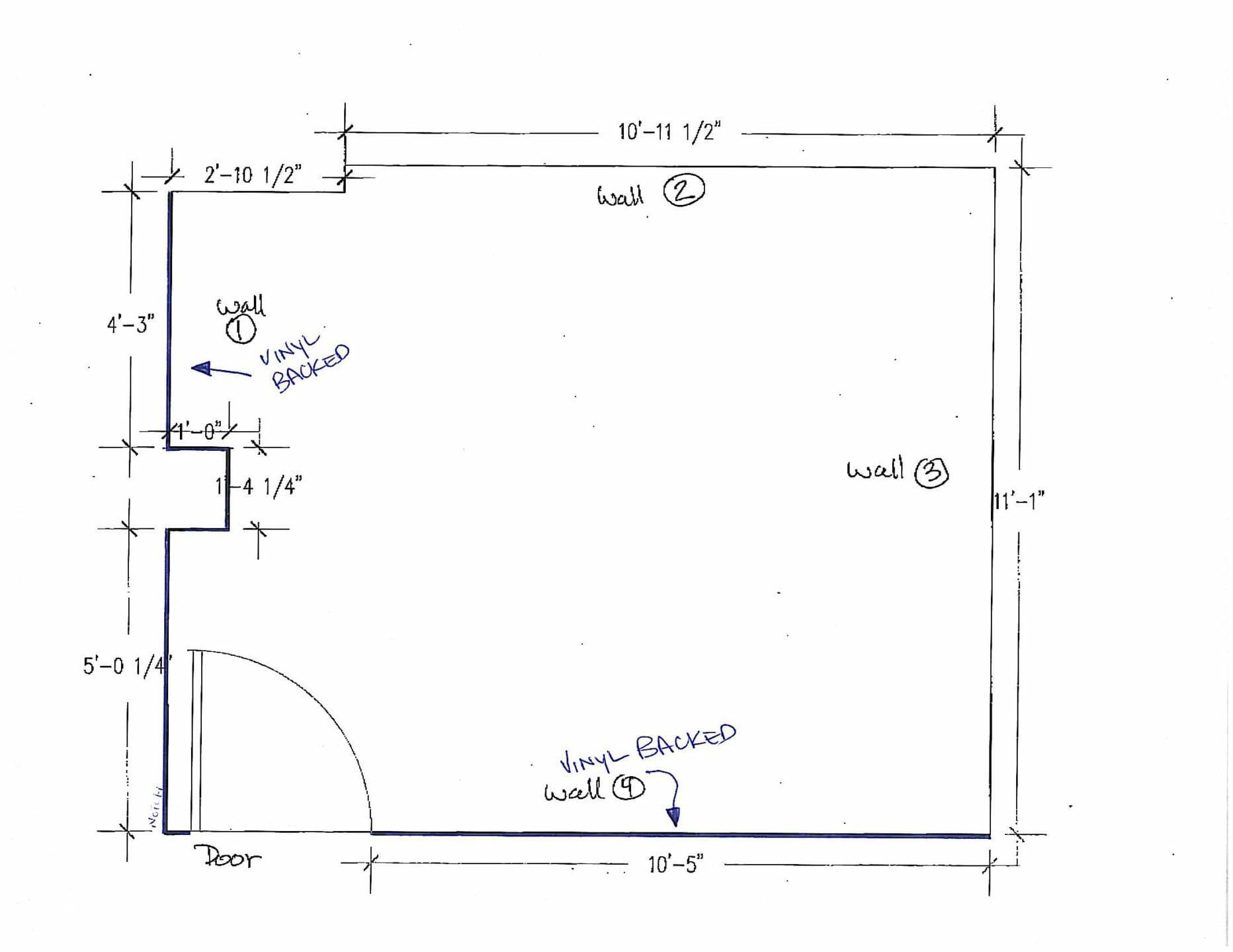 game room plan
