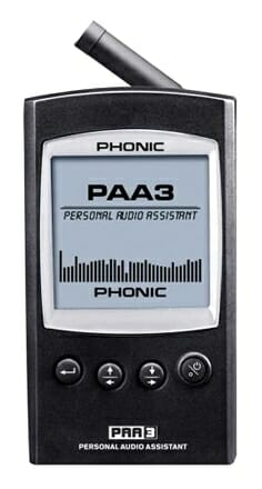 PAA3 Handheld Audio Analyzer with USB