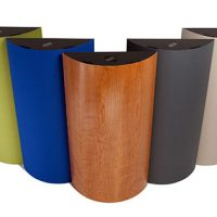 The CURVE System™ – Acoustical Diffusers