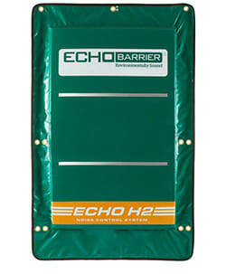 Echo Barrier by Acoustical Surfaces made in the USA
