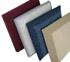Fabric wrapped acoustic wall & ceiling panels by Acoustical Surfaces