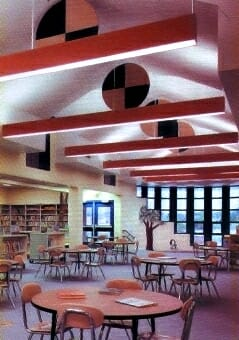 Hanging Fabric Wrapped Baffles by Acoustical Surfaces