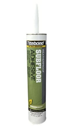 Weatherproof Panel and Subfloor Adhesive
