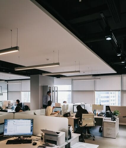 shared office acoustics