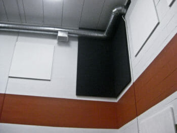 PolyMax installed to help prevent echoes.