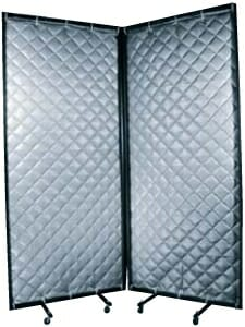 Quilted Curtain S.T.O.P. portable acoustical enclosure and screen by Acoustical Surfaces