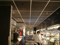 Sound Silencer Ceiling Tiles in Food Preparation Areas