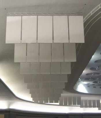 Echo Eliminator™ Hanging Baffles for soundproofing by Acoustical Surfaces