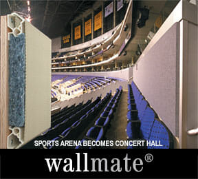 Wallmate in Sports Arena