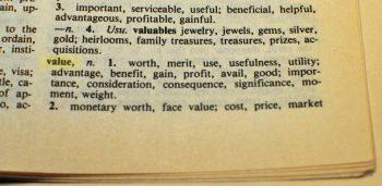 value definition